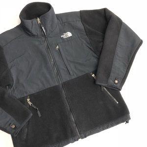The North Face Black Fleece Jacket Full Zip